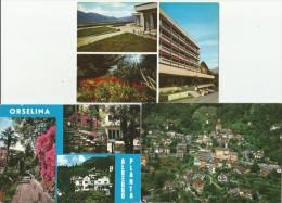 ORSELINA Flugaufnahme Albergo PLANTA Casa Di Cura 3 Cartoline - TI Ticino
