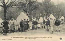Charente-maritime - Ref F382-rochefort - Campement Du 3 ème Colonial Sur Le Cours D´ablois - Inspection Des Armes - - Rochefort