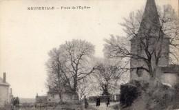 MOUREUILLE PLACE DE L'EGLISE PEU COURANT - Frankrijk