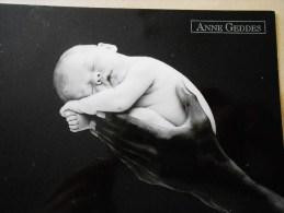 CP Anne Geddes : 1 Bébé Endormi Dans Une Main - Babies