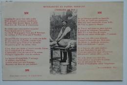 CPA Monologues En Patois Normand L'andouille De Vire  - FA04 - Vire