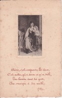 """CPA V. Hugo - """"Aimer, C'est Comprendre Les Cieux..."""" (3347) - Literatur"""