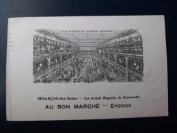 CPA : Besançon  ( Au Bon Marché ) - Besancon