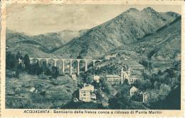 ACQUASANTA (GE) - SANTUARIO - F/P - V: 1948 - Genova (Genoa)