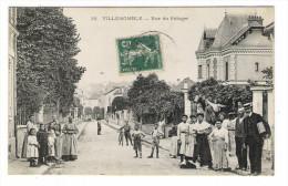 SEINE  /  VILLEMOMBLE  /  RUE  DU  POTAGER  ( Très Belle Animation ) /  Edit.  E. LE DELEY  ( ELD )  N° 39 - Villemomble