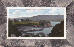 Vintage PC Bowness Bay From Church Tower (3372) - Cumberland/ Westmorland