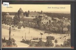 DRESDEN - STÄDT. AUSSTELLUNG GEBÄUDE - TB - Dresden