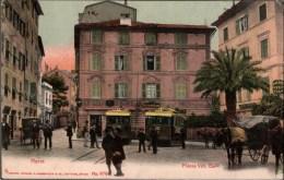 ! Old  Postcard Nervi, Genau, Genova, Straßenbahnen, Tram, Liguria, Italien, Italy, Italia - Genova (Genoa)