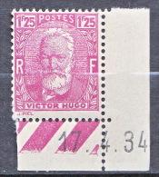 TYPE VICTOR HUGO N�  293 NEUF** TB  / MNH