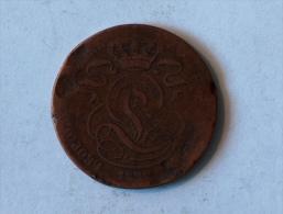 Belgique 5 Cents 1837 Centimes - 1831-1865: Léopold I