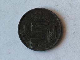 Belgique 5 Francs 1943 Franc - 1934-1945: Leopold III