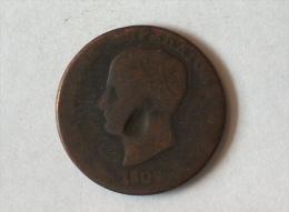 Italie Napoleone Emperatore 1809 Bologne - Temporary Coins