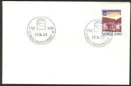 NORWAY, Hammerfest City 200th Anniv 1989 (NK 1065=FDC !) - Feste