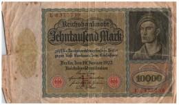 Billet Allemagne, à Identifier  /4229 - Germany