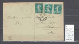 Lettre Cachet  Ambulant  Metz à Treves 1 -Alsace -L - Rare - Postmark Collection (Covers)