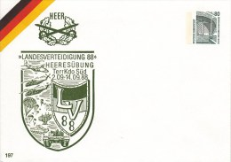 PU 288/26**  Heer - Landesverteidigung 88 - Heeresübung TerrKdo Süd 1988 - BRD