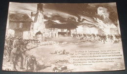Le Village De Sommesous Pris Par Le 36ème Et 236ème D Infanterie - Guerre 1914-18