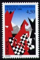 Echecs  Timbre Neuf  Andorre 1996  Y:477 Cote/value:3€ Chess Stamp MNH  Andorra - Echecs
