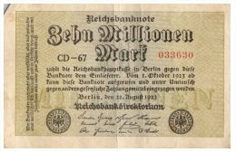 Billet Allemagne, à Identifier  /106 - [ 3] 1918-1933 : République De Weimar