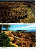 UTAH BRICE CANYON LOT DE 4 CARTES 1976 - Bryce Canyon