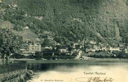 TERRITET-VEYTAUX - VAUD -  SUISSE - PEU COURANTE CPA PRECURSEUR DE 1903. - VD Vaud