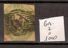 Grande Bretagne 7 Oblitéré Côte 1000 € - 1840-1901 (Victoria)