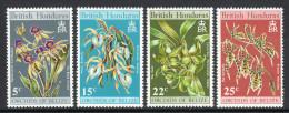BRITISH HONDURAS. 1970 ORCHIDS (2nd SERIES) SET MNH. - Belize (1973-...)