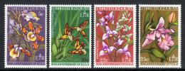 BRITISH HONDURAS. 1968 ORCHIDS SET MNH. - Belize (1973-...)
