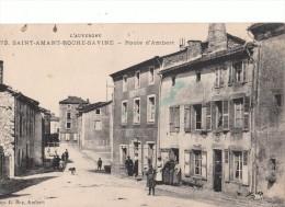 Saint Amant Roche Savine. Route D'Ambert. - Otros Municipios