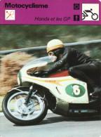 Fiche  -  Motocyclisme  -  Honda Et Les GP  -  Mike Hailwood - Motor Bikes