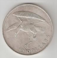 *singapore  10  Dollar  1973  Km 9.2  Unc - Singapour