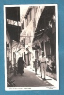 TANZANIE  ZANZIBAR PORTUGUESE STREET USED 1960 STAMP REMOVED - Tanzanie