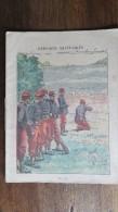 PROTEGE CAHIER ILLUSTRE EPISODES MILITAIRES LE TIR CAHIER DE SCIENCES 1899 - Protège-cahiers