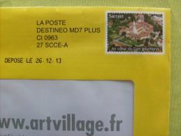 Enveloppe Pseudo-entier Privé : Art Village _ Sarrant Au Coeur Du Gers Gourmand - Pseudo-entiers Privés