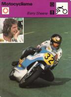 Fiche  -  Motocyclisme  -  Barry Sheene Sur Suzuki - Motor Bikes