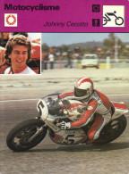 Fiche  -  Motocyclisme  -  Johnny Cecotto Sur Yamaha - Motor Bikes