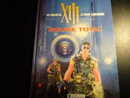 XIII : Rouge Total / VAN HAMME - XIII