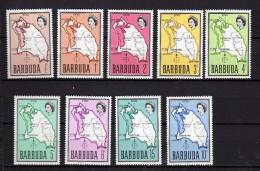Barbades Scott N° 12 à 20 Neufs - Barbades (1966-...)