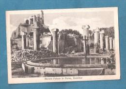 Zanzibar Maharubi Palace In Ruins - Tanzanie