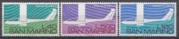 Saint-Marin Mi.nr.:1077-1079 SegelflugSport In Italien 1974 Neuf Sans Charniere / Mnh / Postfris - Neufs
