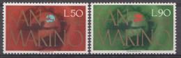 Saint-Marin Mi.nr.:1075-1076 Weltpostverein UPU 1974 Neuf Sans Charniere / Mnh / Postfris - Neufs