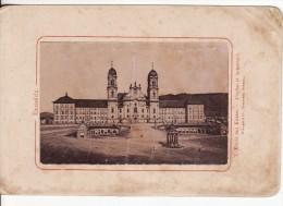 PHOTO CARTONNEE 150 X 100mm EINSIEDELN ( Suisse-Schwyz) Eglise Couvent-Kirche Kloster-Foto Benziger VOIR 2 SCANS - - Old (before 1900)