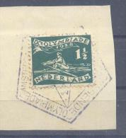 ★★★ Netherland Olympic Games 1928 - Amsterdam - Rowing Olympic Stamp With Pentagonal N1 Cancel - Summer 1928: Amsterdam