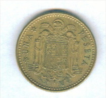 F3521 / - 1 Peseta - 1975 ( 78 ) - Spain Espana Spanien Espagne - Coins Munzen Monnaies Monete - [ 5] 1949-… : Kingdom