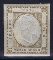 Italy,  Mi 2 ,Sa 18  MH/*  Signed/ Signé/signiert/ Approvato