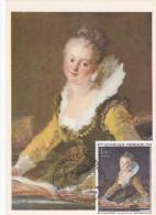 Carte-Maximum FRANCE  N° Yvert 1702 (FRAGONARD) Obl Sp Ill 1er Jour  (Ed Loterie Nationale)  RR - 1970-79