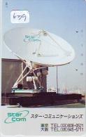 Télécarte Japon SATELLITE (639) ESPACE * TERRESTRE * TELEFONKARTE * Phonecard JAPAN * - Espacio