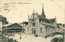 Cusset  L'Eglise Et La Halle Au Blé  Cpa - France