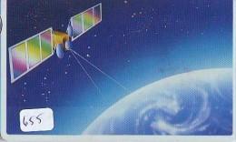 Télécarte  SATELLITE (655) ESPACE * TERRESTRE * TELEFONKARTE * Phonecard - Espace