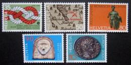 A7759 - Switzerland - 1986 - Sc. 772-776 - MNH - Unused Stamps
